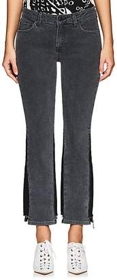 Derek Lam 10 Crosby Women's Gia Stretch Flared Crop Jeans