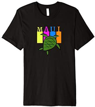 Maui Vacation Shirt with Turtle Graphic