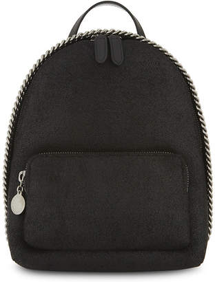 Stella McCartney Falabella faux-suede mini backpack