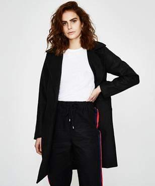 All About Eve Bermuda Coat Black