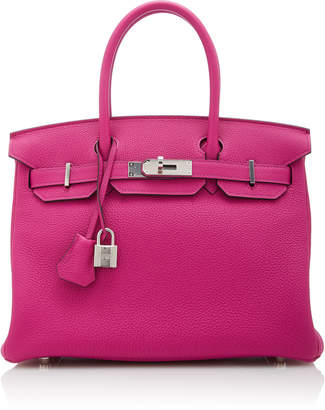 Hermes Vintage by Heritage Auctions 30cm Rose Pourpre Togo Leather Birkin