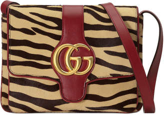 Gucci Arli Medium Tiger-Print Shoulder Bag