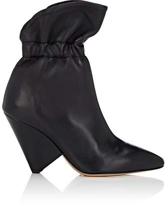 Isabel Marant Women's Lileas Leather Ankle Boots