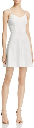 AQUA Textured Floral Cami Dress -100% Exclusive $78 thestylecure.com