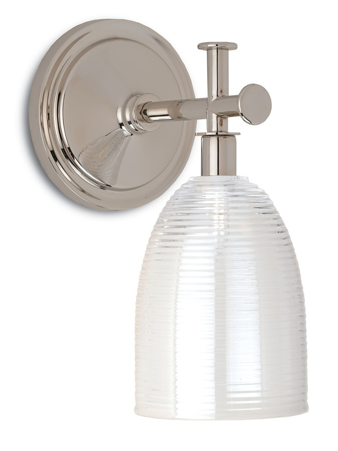 Polished Nickel Cape Cod Wall Sconce - LOW STOCK,ORDER NOW