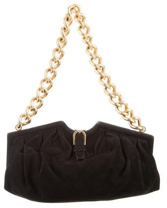 Jimmy Choo Jimmy Choo Suede Shoulder Bag