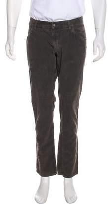 Dolce & Gabbana Corduroy Slim-Leg Pants
