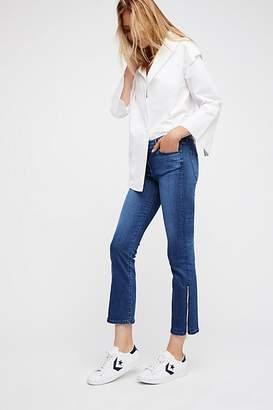 3x1 Midway Gusset Zipper Crop Jeans