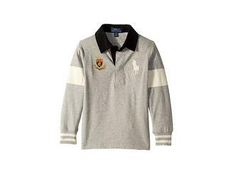 Polo Ralph Lauren Big Pony Cotton Jersey Rugby (Toddler)