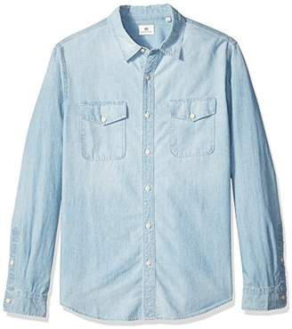 AG Adriano Goldschmied Men's Benning Long Sleeve Button Down