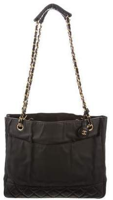 Chanel Coated Canvas Tote
