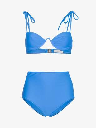 Araks Myriam Bikini Top and Mallory High Waist Hipster set