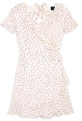 Bardot Junior Girls' Allira Ruffled Polka Dot Dress - Little Kid