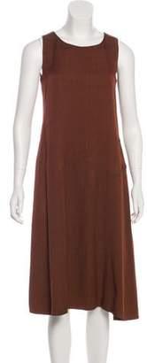 Lafayette 148 Sleeveless Midi Dress