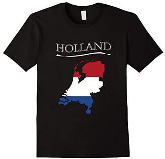 Holland tshirt Netherlands Flag Europe vacation travel shirt