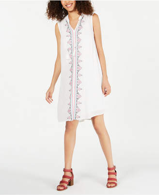 Style&Co. Style & Co Petite Embroidered Dress