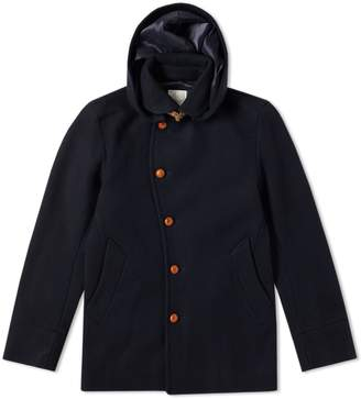 Edifice Melton Shawl Collar Jacket