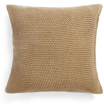 Seed Stitch Accent Pillow
