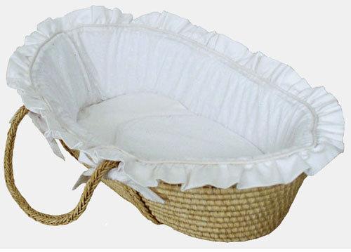 Pique Moses Basket