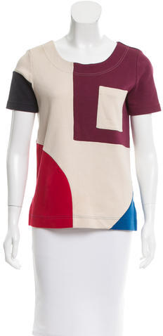 Marc By Marc JacobsMarc by Marc Jacobs Oversize Colorblock Top