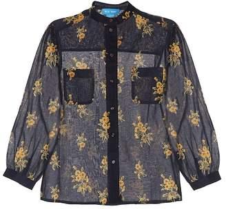 MiH Jeans Lili floral cotton shirt