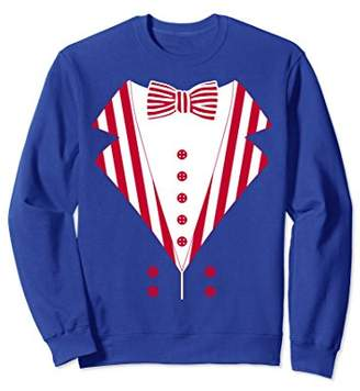 SAM. Uncle Costume Men Patriotic American Sweatshirt