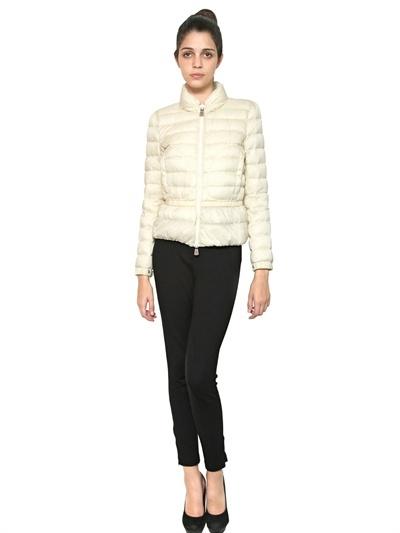 Moncler Small Polka Dot Nylon Jacket