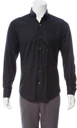 Tom Ford Button-Down Collar Button-Up Shirt