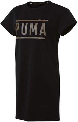 Puma Athletic Womens Dress Tee