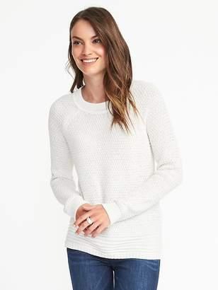 Old Navy Textured Raglan-Sleeve Sweater for Women