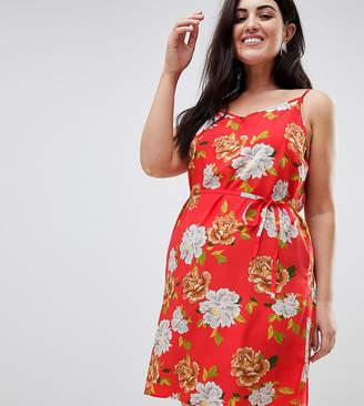 AX Paris Plus Oversize Floral Cami Dress