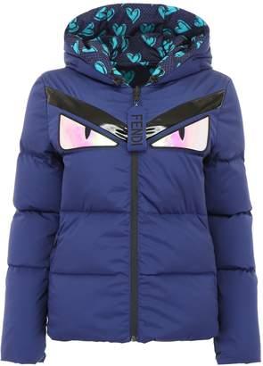 Fendi Reversible Monster Puffer Jacket