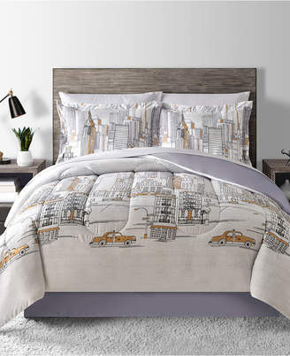 Fairfield Square Collection New York Reversible 8-Pc. Queen Comforter Set Bedding