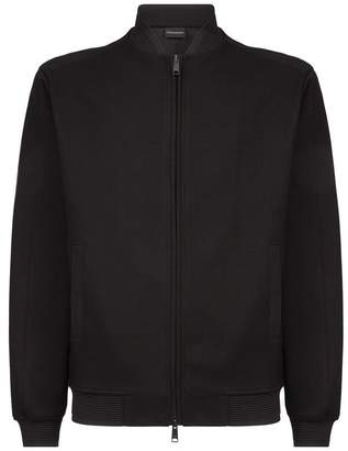Emporio Armani Zip-Up Sweater