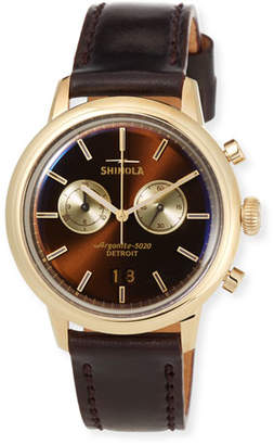 Shinola Men's Bedrock Chronograph Watch