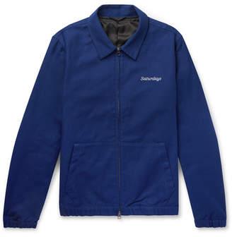 Saturdays NYC Harrison Cotton-Twill Bomber Jacket