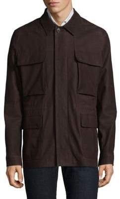 Corneliani Leather Coat