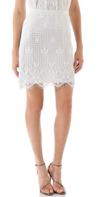 Miguelina Francine Rio Lace Skirt