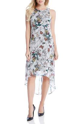 Karen Kane Butterfly Hi-Lo Dress