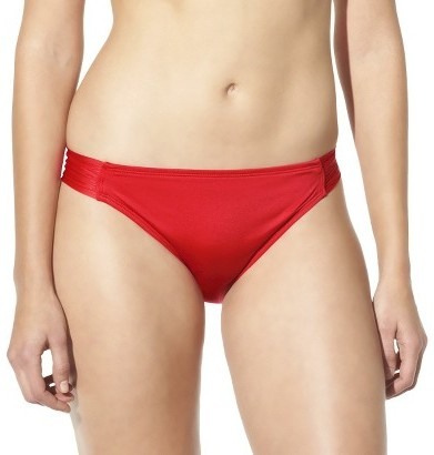 Mossimo Women's Mix and Match Hipster Swim Bottom -Poppy Red