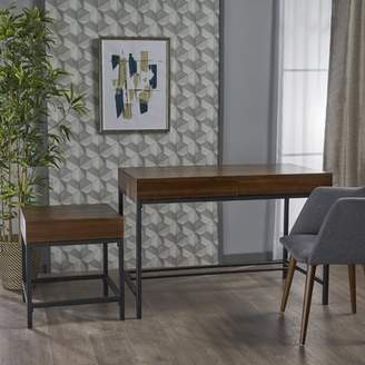 17 Stories Bhatia 2 Piece Side Table and Writing Desk Set