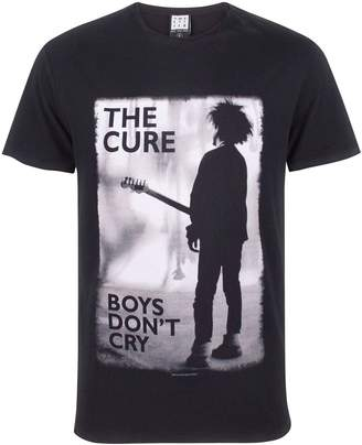 Amplified The Cure Boys Don't Cry Men's T-Shirt (XXL)