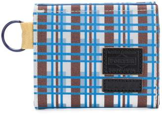 Marni checked design wallet