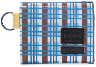 Marni checked design wallet