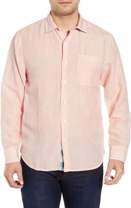 Tommy Bahama Sand Stripe Linen Blend Sport Shirt