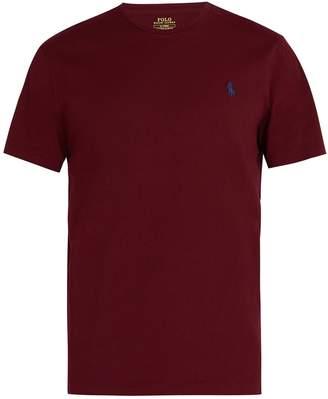 Polo Ralph Lauren Logo-embroidered cotton jersey T-shirt