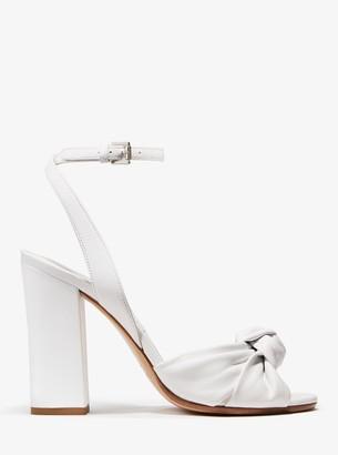 Michael Kors Gabrielle Leather Sandal