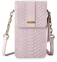 GiGi New York Penny Python Leather Crossbody Bag
