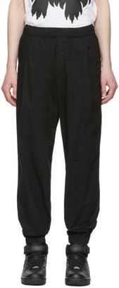 McQ Black Casual Trousers