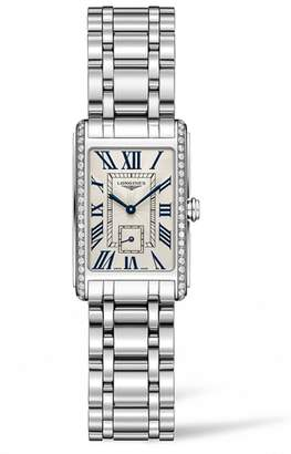 Longines DolceVita Diamond Bracelet Watch, 20.5mm x 32mm